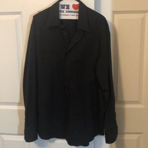Express Men's Button Down Shirt modern fit